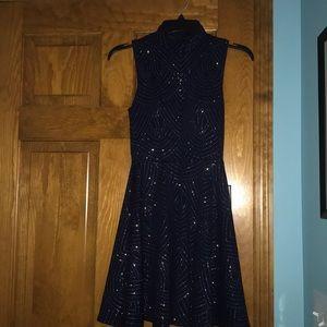 Blue Sparkly Dress